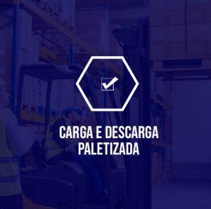 Carga e descarga Paletizada, serviços de carga e descarga
